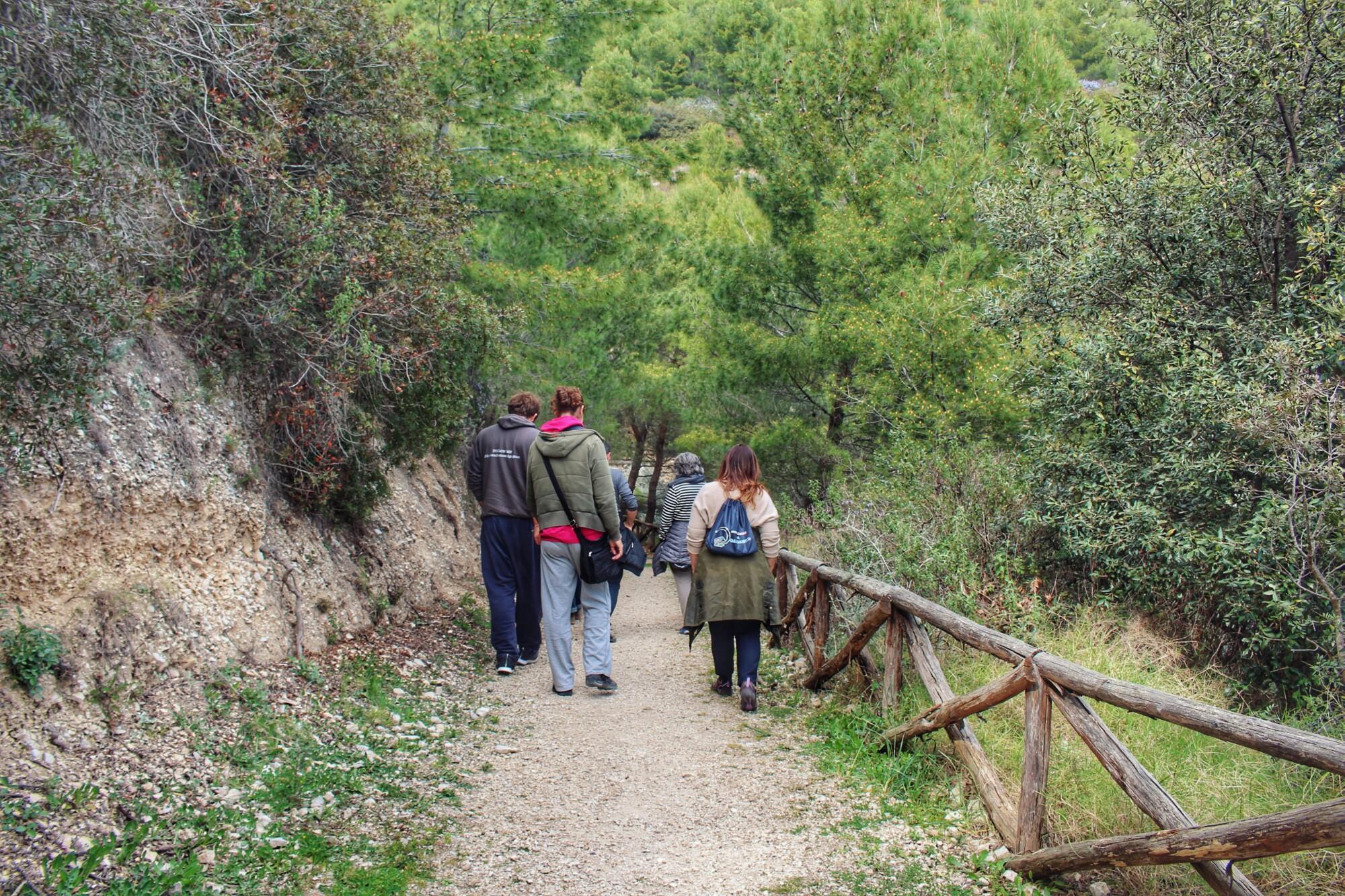Sentiero naturalistico Gargano Puglia