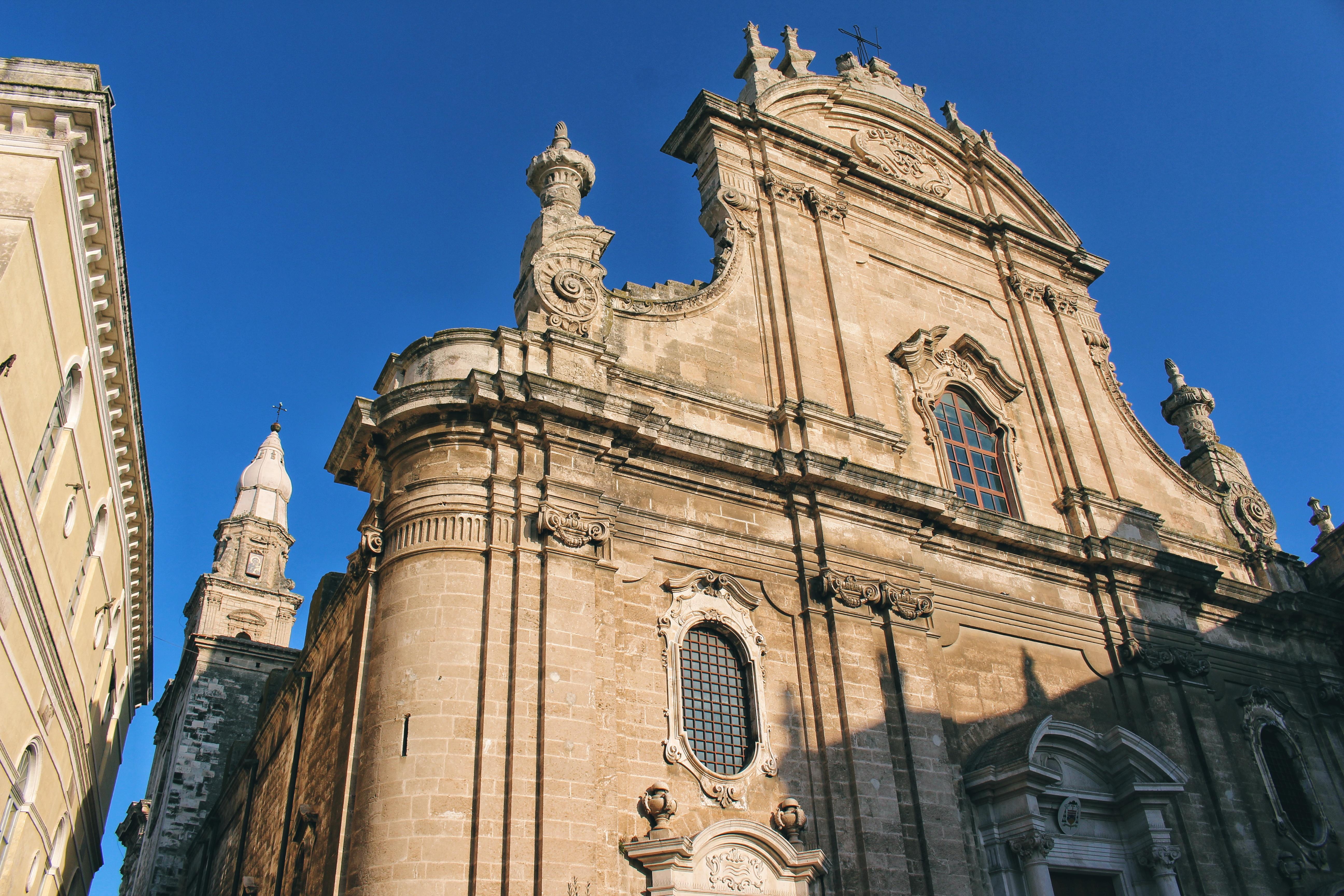 Basilica Cattedrale Madonna della Madia Monopoli Puglia