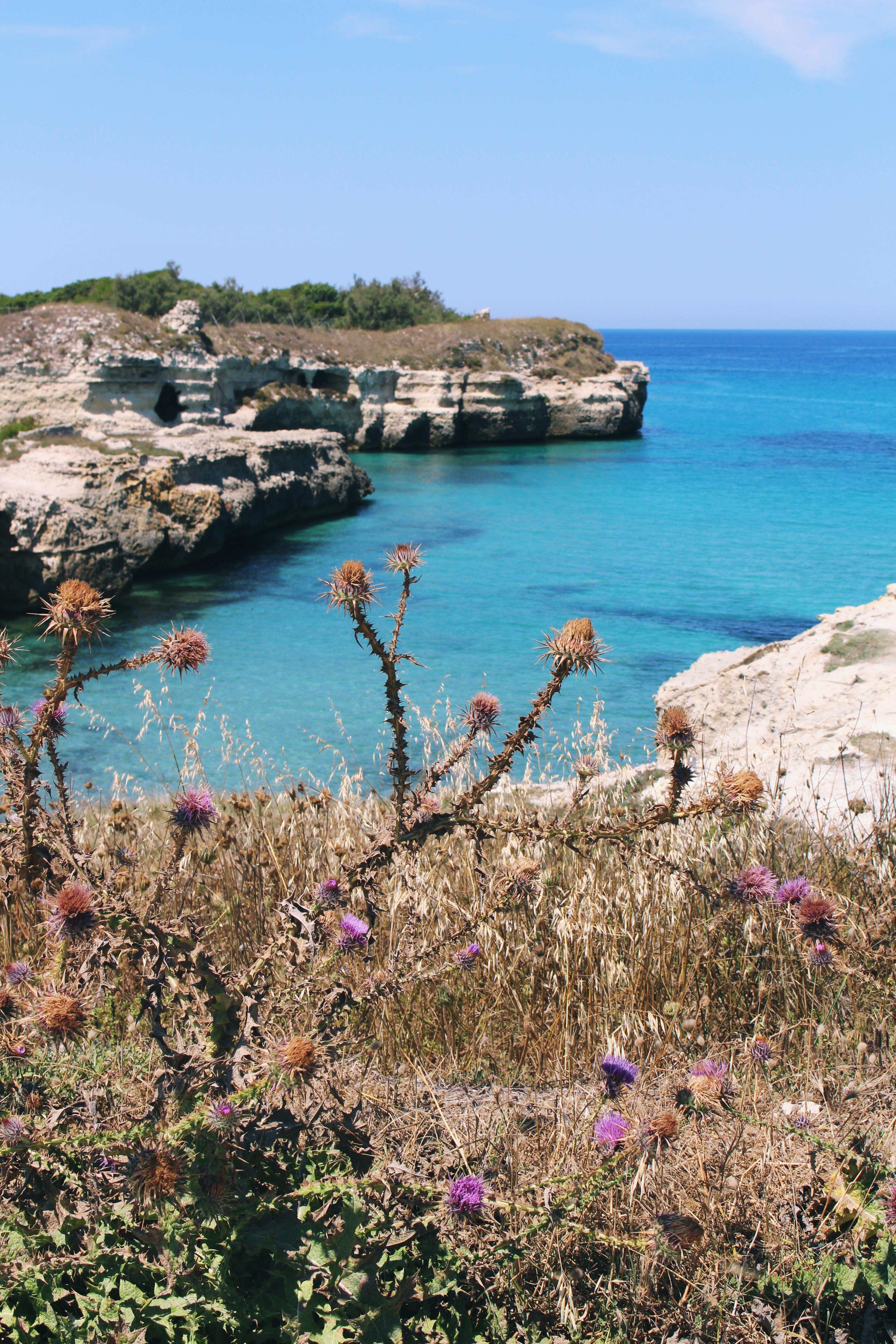 Puglia, Salento, Melendugno, Grotta della poesia, Roca vecchia, Itinerari, viaggi in Puglia, Blog di viaggi