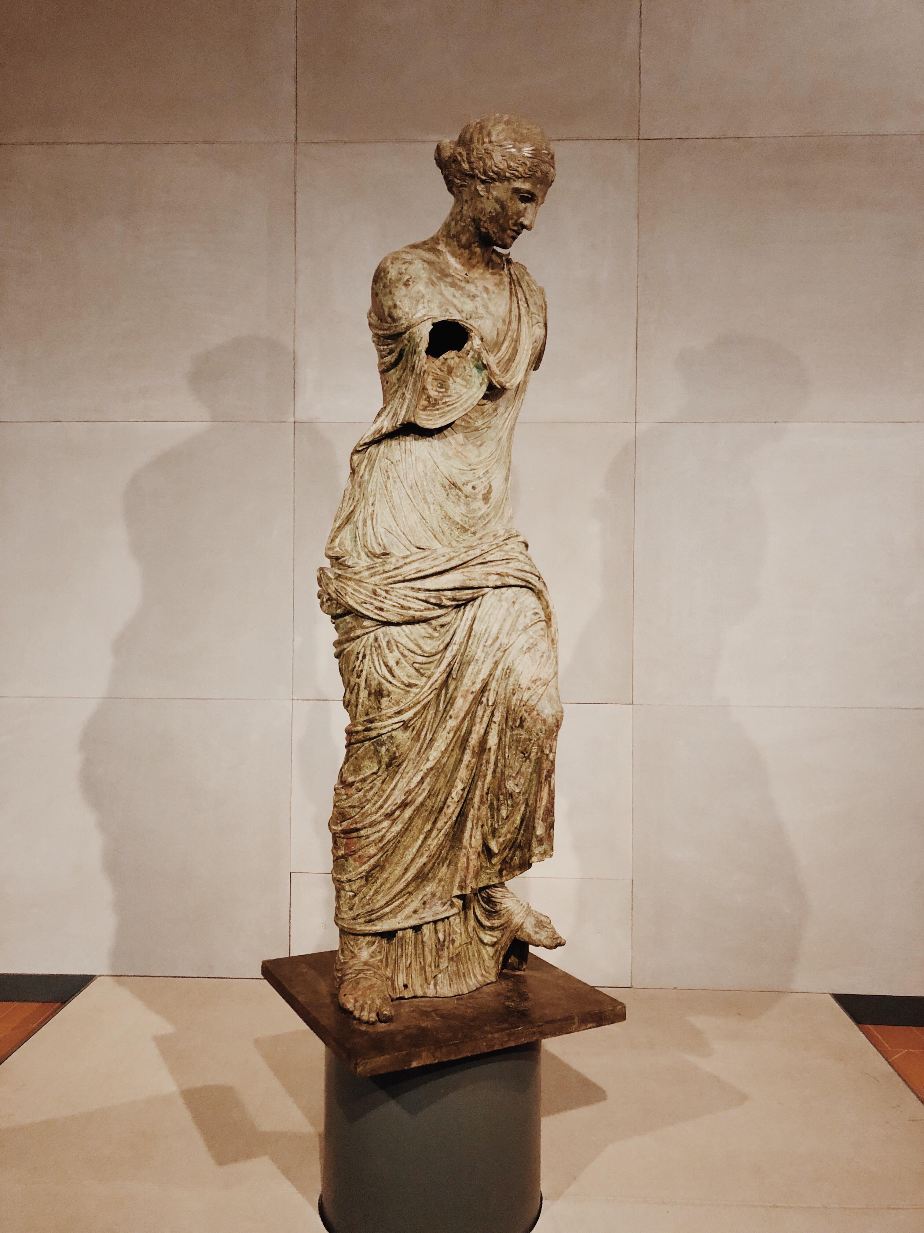 brescia, visitbrescia, museo santa giulia, vittoria alata