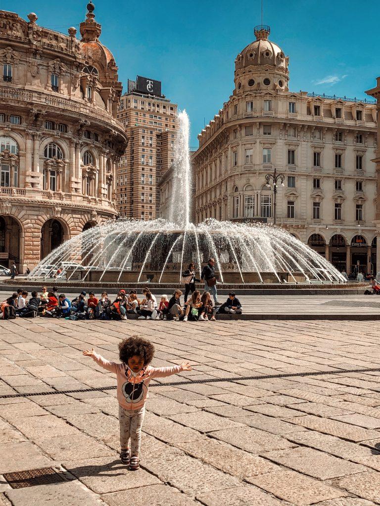 genova caruggi centro storico rolli days piazza de ferrari genova